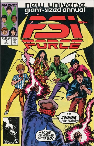 Psi-Force Annual 1-A by Marvel