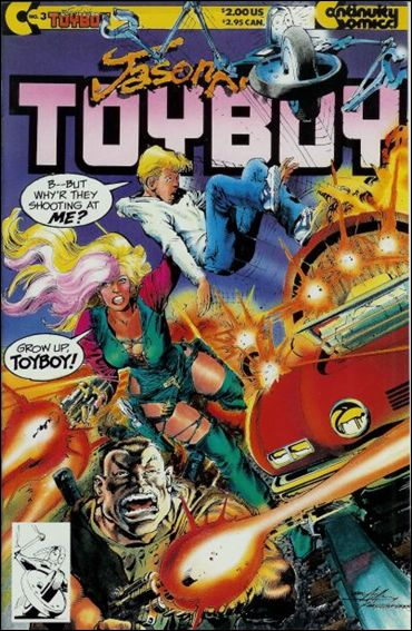 Toyboy 3-A by Continuity Comics
