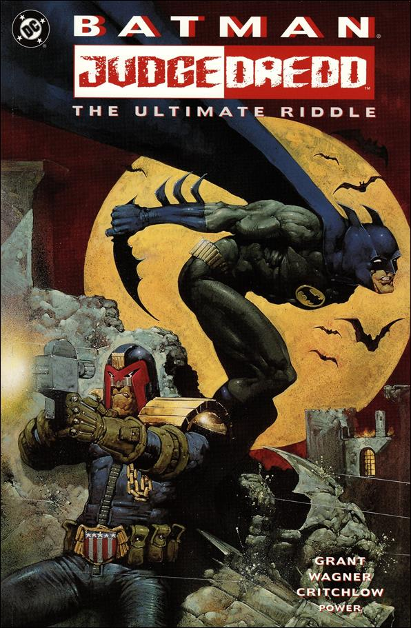 Batman/Judge Dredd: The Ultimate Riddle 1-A by DC