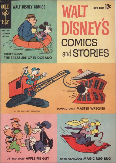 Walt Disney's Comics and Stories (1940) 264-A by Dell
