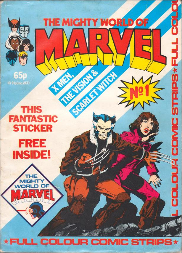 Mighty World of Marvel (UK) (1983) 1-A by Marvel UK