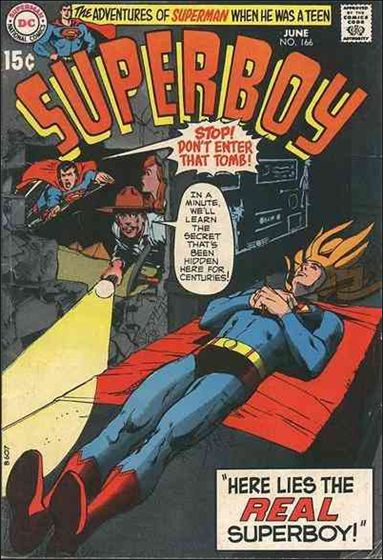 Superboy (1949) 166-A by DC