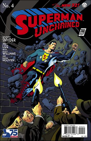 Superman Unchained 4-K by DC