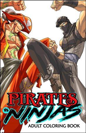 Pirates vs Ninjas Coloring Book nn-A