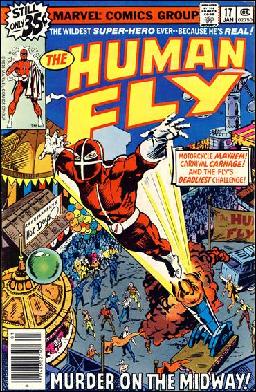 Human Fly 17-A by Marvel