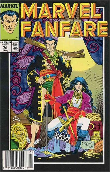 Marvel Fanfare (1982) 43-A by Marvel