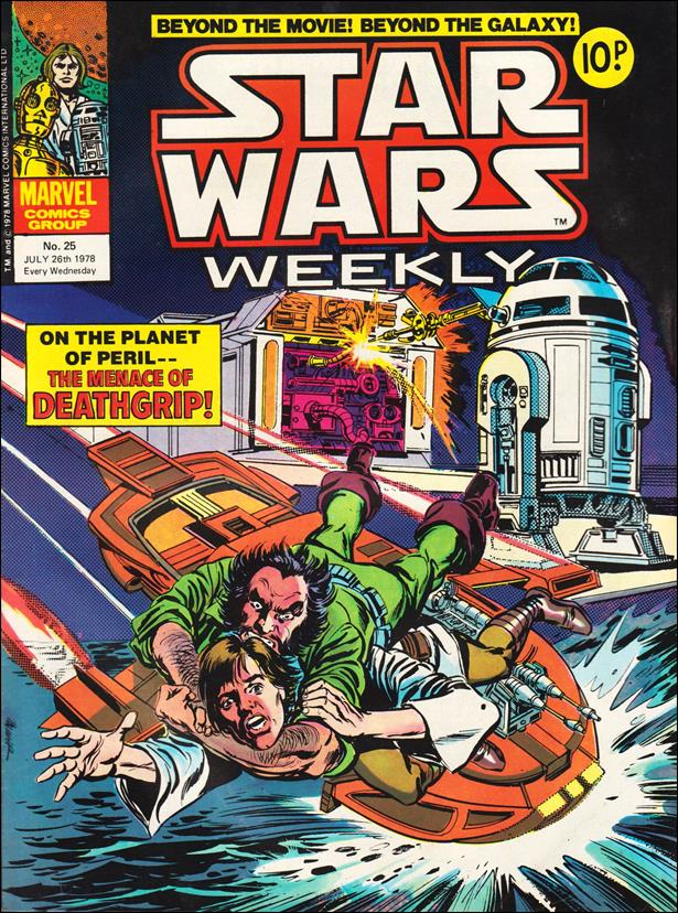 Star Wars Weekly (UK) 25-A by Marvel UK