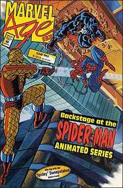 Marvel Age 137-A by Marvel
