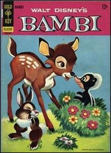 Walt Disney's Bambi 1-B by Gold Key