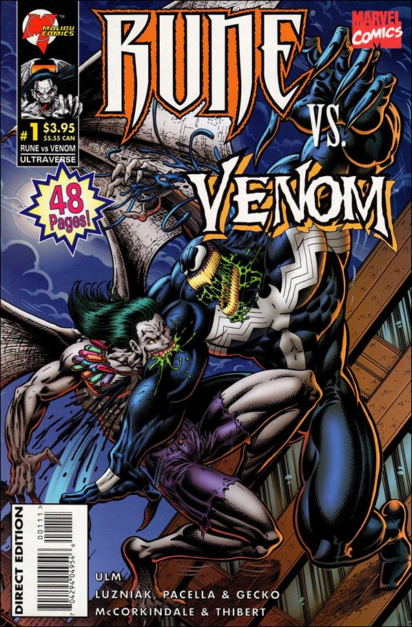Rune vs Venom 1-A by Malibu