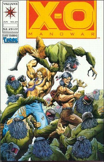 X-O Manowar (1992) 29-A by Valiant