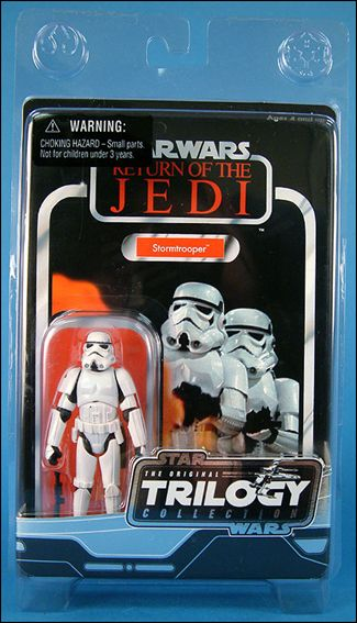 "Star Wars: Original Trilogy Collection Vintage 3 3/4"" Action Figures  Stormtrooper by Kenner"
