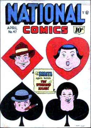 National Comics (1940) 47-A by Quality