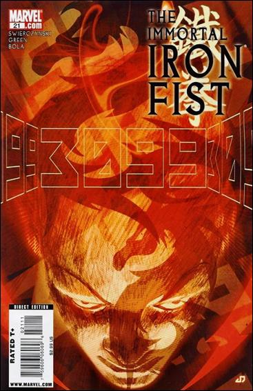 Immortal Iron Fist 21-A by Marvel