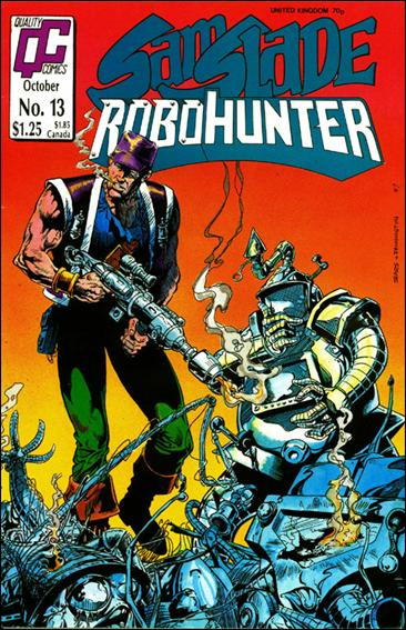 Sam Slade Robo Hunter (UK) 13-A by Quality Comics