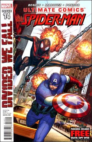 Ultimate Comics Spider-Man 14-A by Marvel