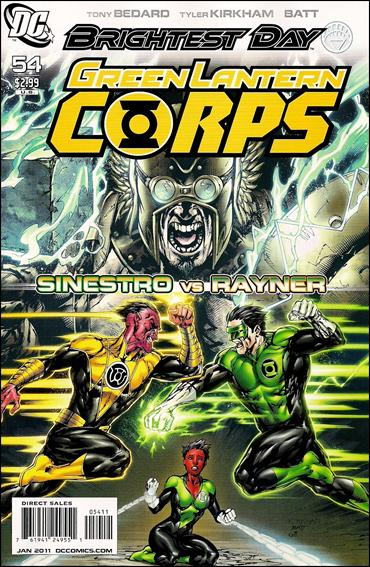 Green Lantern Corps (2006) 54-A by DC