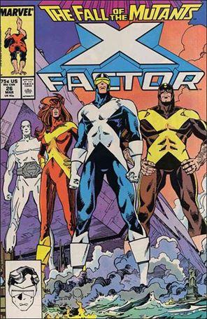 X-Factor (1986) 26-A
