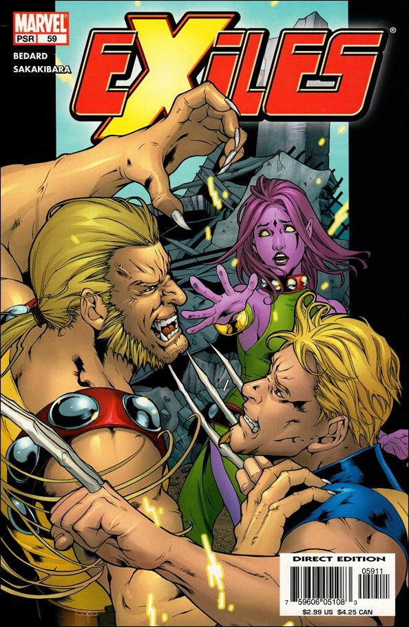 Exiles (2001) 59-A by Marvel