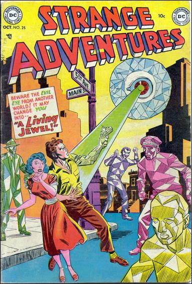 Strange Adventures (1950) 25-A by DC