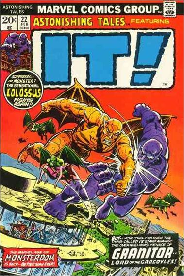 Astonishing Tales (1970) 22-A by Marvel