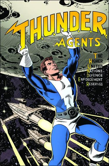 T.H.U.N.D.E.R. Agents (2013) 2-D by IDW