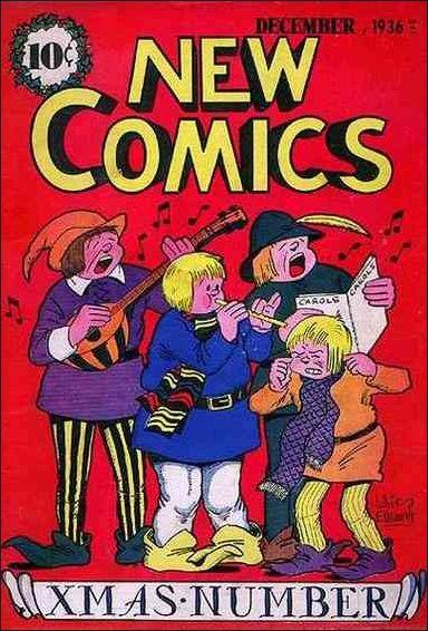 New Comics 11-A by DC