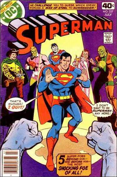 Superman (1939) 337-A by DC