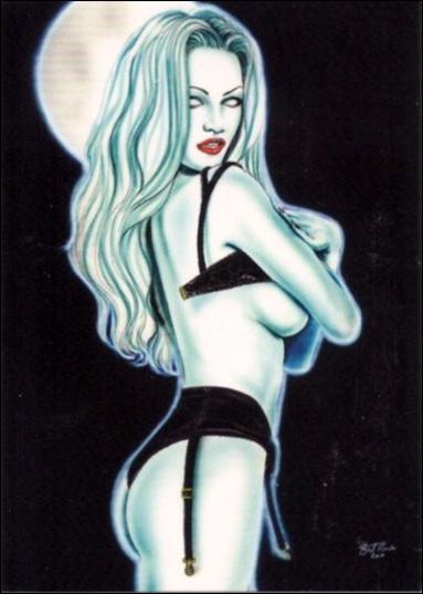 Lady Death Sketches (Promo) nn2-A by 5Finity