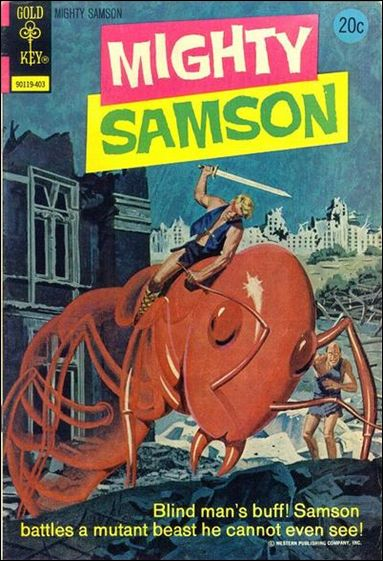 Mighty Samson (1964) 23-A by Gold Key