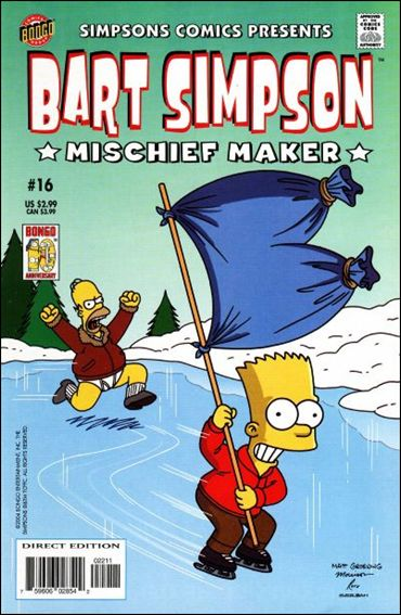 Simpsons Comics Presents Bart Simpson 16-A by Bongo
