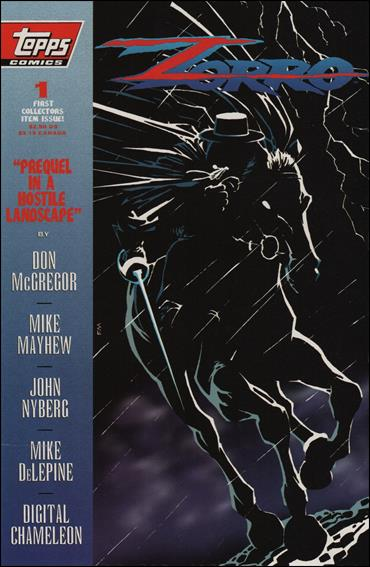 Zorro (1993) 1-A by Topps