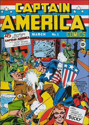 Captain America Comics (1941) 1-A