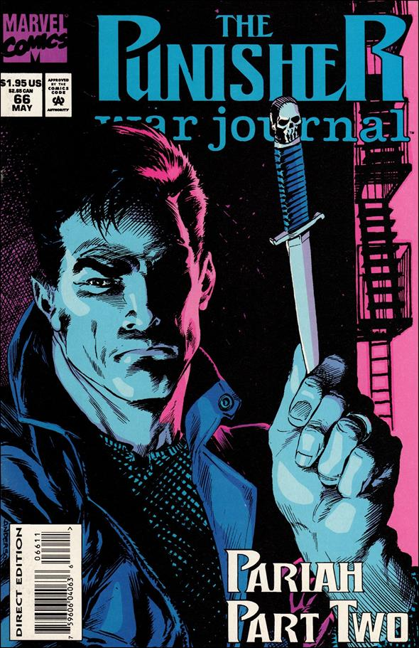 Punisher War Journal (1988) 66-A by Marvel
