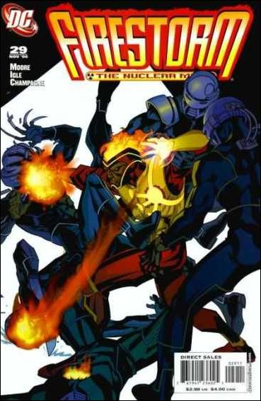 Firestorm: The Nuclear Man (2006) 29-A by DC