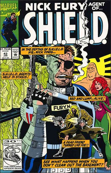 Nick Fury, Agent of S.H.I.E.L.D. (1989) 43-A by Marvel