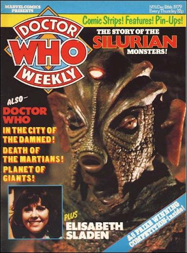 Doctor Who Weekly 11-A by Marvel UK
