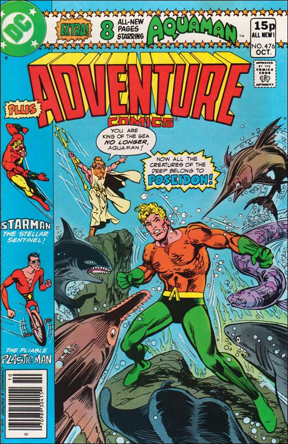 Adventure Comics (1938) 476-B by DC