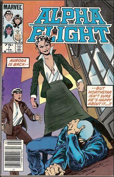 Alpha Flight (1983) 7-B by Marvel