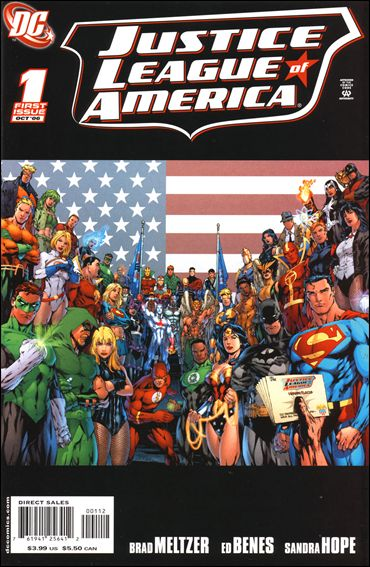 Justice League of America (2006) 1-D by DC