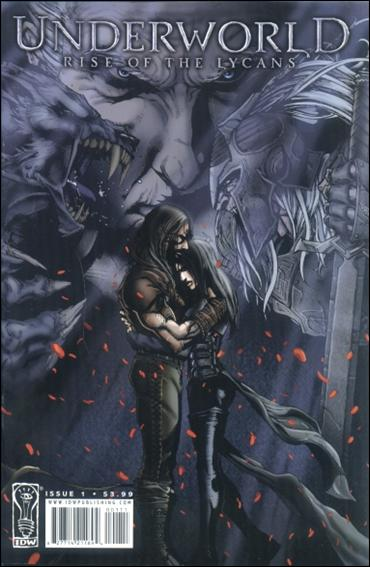 Underworld: Rise of the Lycans 1-A by IDW
