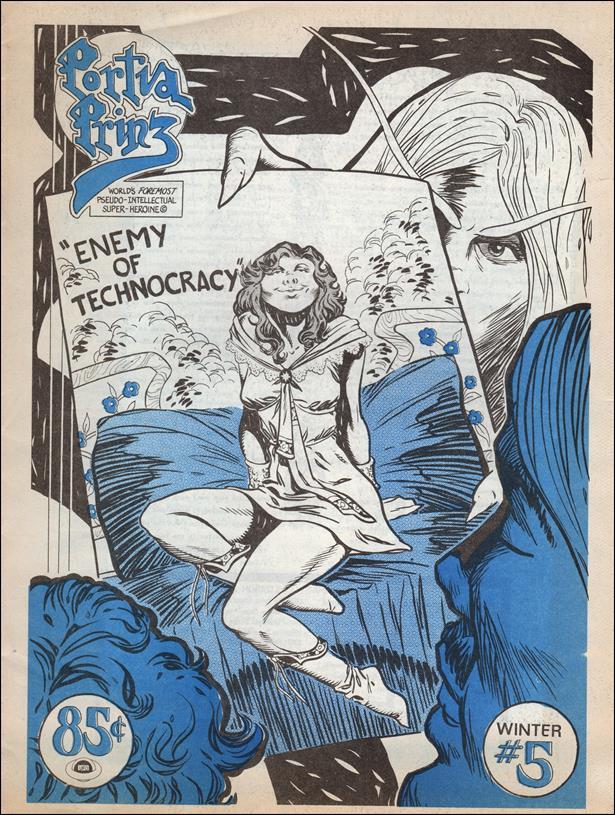 Portia Prinz of the Glamazons (1976) 5-A by Desperado-Eastern Press
