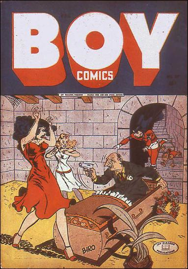Boy Comics 20-A by Lev Gleason Productions