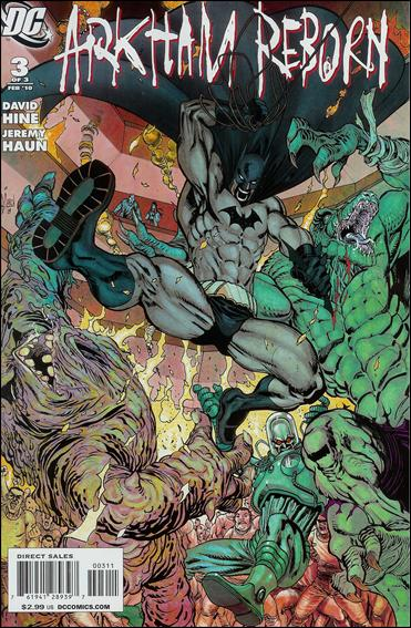 Arkham Reborn 3-A by DC