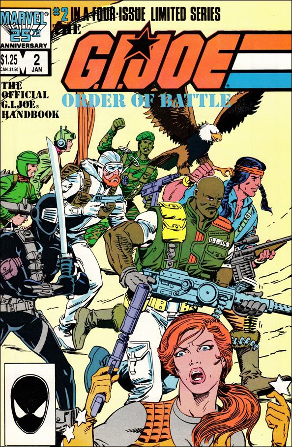 G.I. Joe: Order of Battle 2-A by Marvel