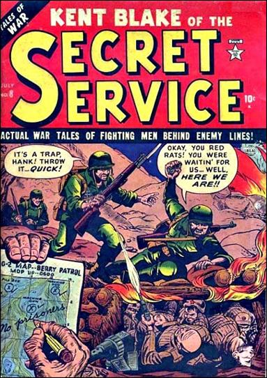 Kent Blake of the Secret Service 8-A by Atlas