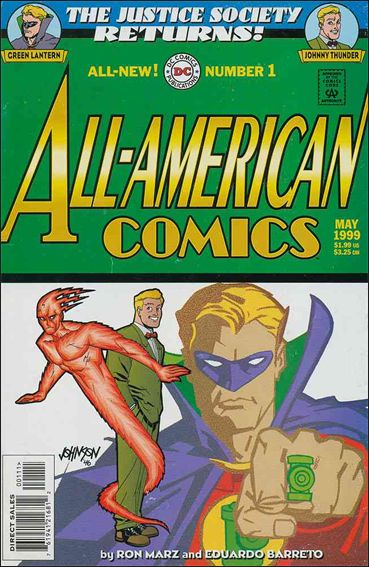 All-American Comics (1999) 1-A by DC