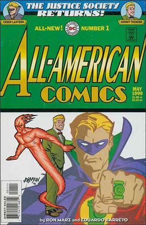 All-American Comics (1999) 1-A