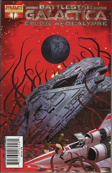 Battlestar Galactica: Cylon Apocalypse 1-C by Dynamite Entertainment
