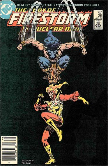 Fury of Firestorm 26-A by DC